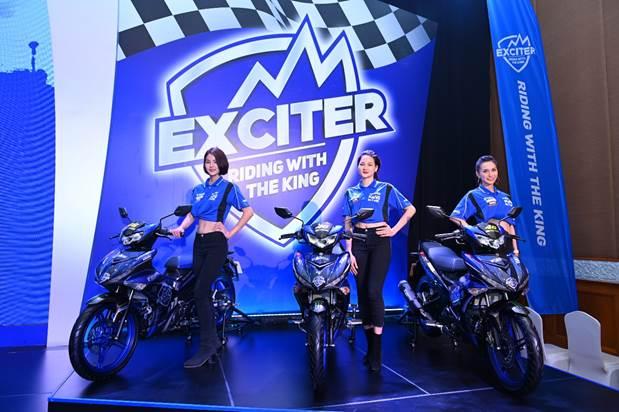 Các phiên bản Exciter trưng bày tại một sự kiện.