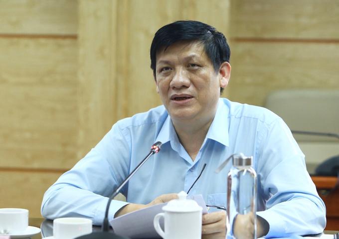 Quyền Bộ trưởng Y tế Nguyễn Thanh Long. Ảnh: VGP