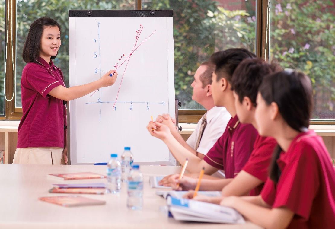 Học sinh học cách gọi vốn khởi nghiệp.