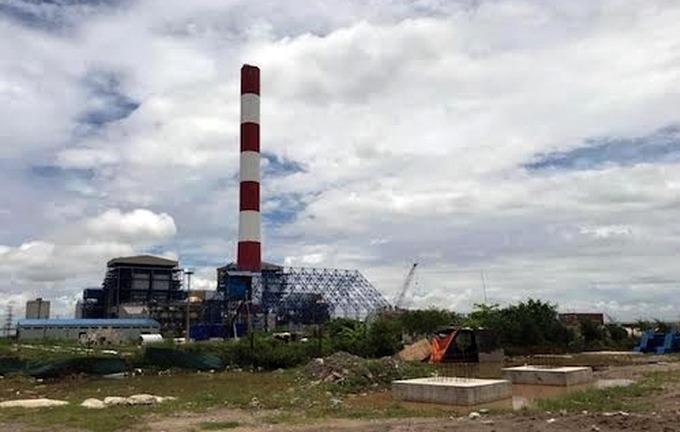 Nhà máy Nhiệt điện Thái Bình 2. Ảnh: Hoài Thu
