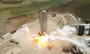 SpaceX phóng thử nguyên mẫu tên lửa tới sao Hỏa
