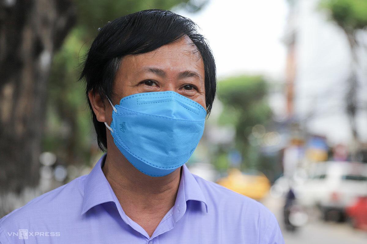 Bác sĩ Tôn Thất Thạnh - Giám đốc CDC Đà Nẵng. Ảnh: Nguyễn Đông.