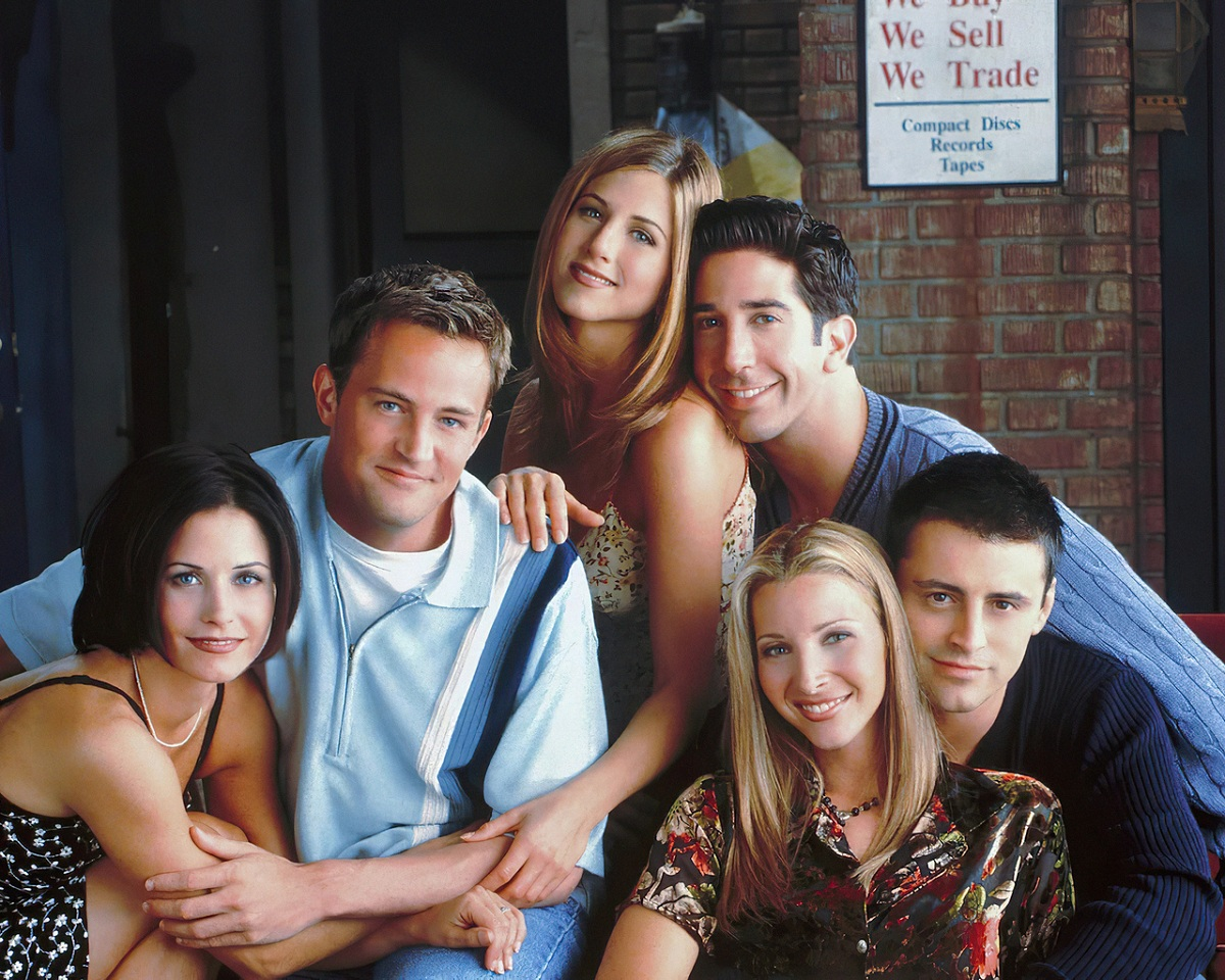 Các diễn viên trong phim Friends. Ảnh: SantaBanta