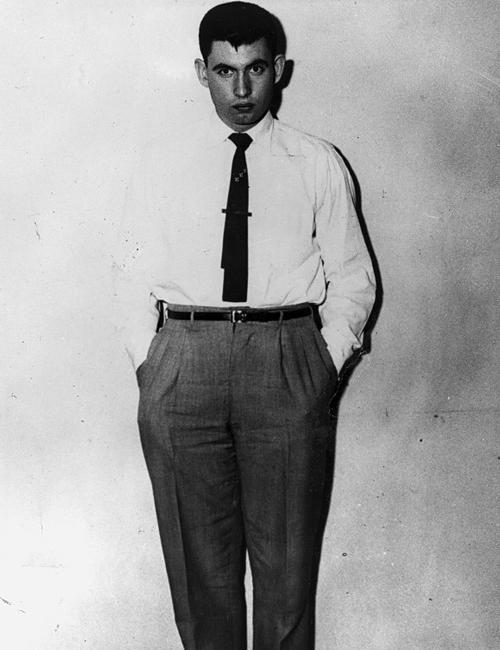 Jack Gilbert Graham, nghi phạm vụ đánh bom. Ảnh: FBI.