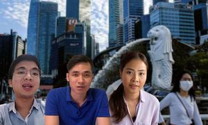 Người Việt ở Singapore xoay xở trong đại dịch