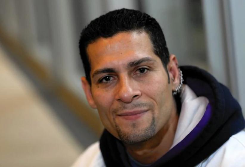 Juan Rivera sau khi được trả tự do. Ảnh: Chicago Tribune.