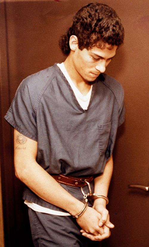 Juan Rivera sau khi bị bắt giữ. Ảnh: New York Times