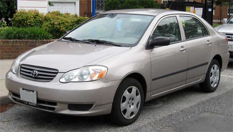 Thiết kế Corolla 2005 nhập khẩu.