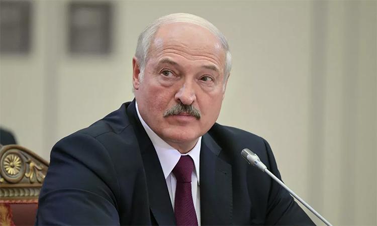 Tổng thống Belarus Alexander Lukashenko trong cuộc họp với các lãnh đạo Khối thịnh vượng Các quốc gia độc lập (CIS) tại St. Petersburg tháng 12/2019. Ảnh: RIA Novosti.