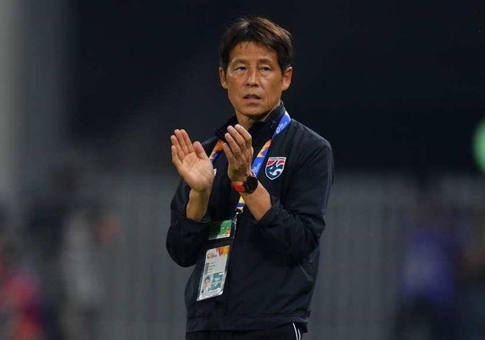HLV Akira Nishino cùng Thái Lan hoà Việt Nam hai trận tại vòng loại World Cup 2022.