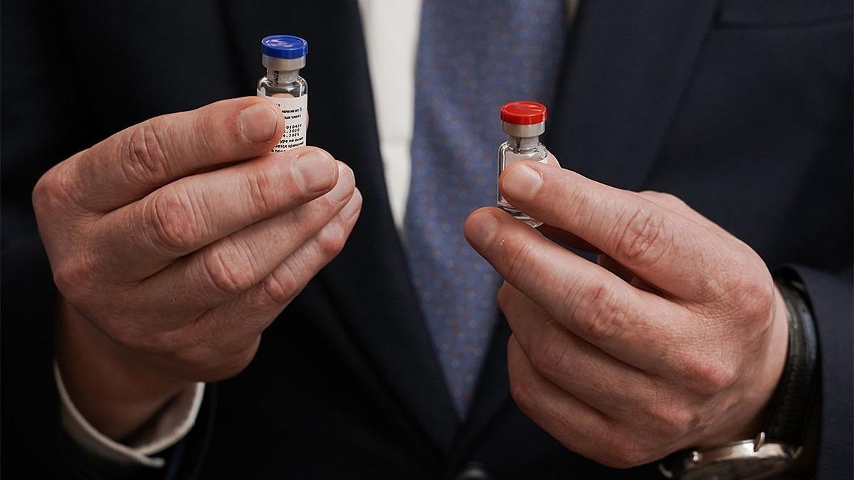 Vaccine Covid-19 do Nga sản xuất. Ảnh: TASS
