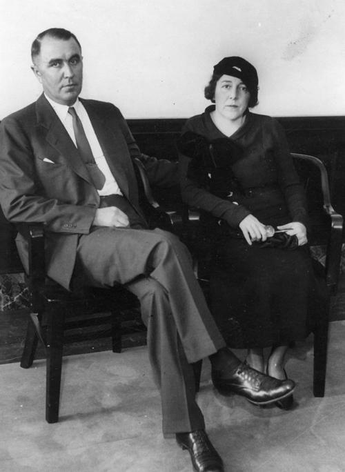 Vợ chồng tỷ phú Charles Urschel. Ảnh: The Oklahoman.