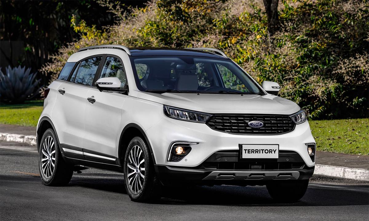 Territory là mẫu SUV cỡ nhỏ mới đã bán tại Nam Mỹ. Ảnh: Ford