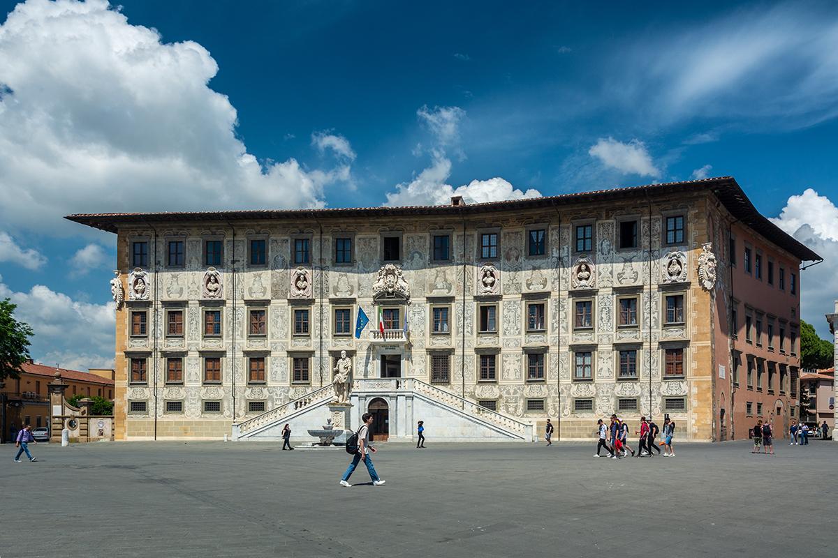 Công trình trường Scuola Normale Superiore di Pisa. Ảnh: Shutterstock.