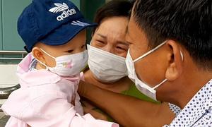 Bé nhỏ tuổi nhất Đà Nẵng mắc nCoV khỏi bệnh