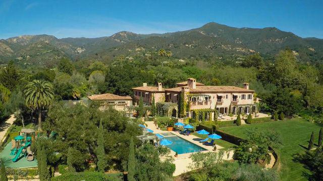 Biệt thự mới mua của Harry - Meghan ở khu Montecito, hạt Santa Barbara, California, Mỹ. Ảnh: Page Six