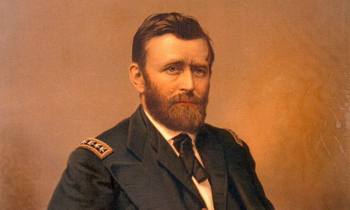 Tổng thống Ulysses S. Grant vào năm 1867. Ảnh: Bettman.