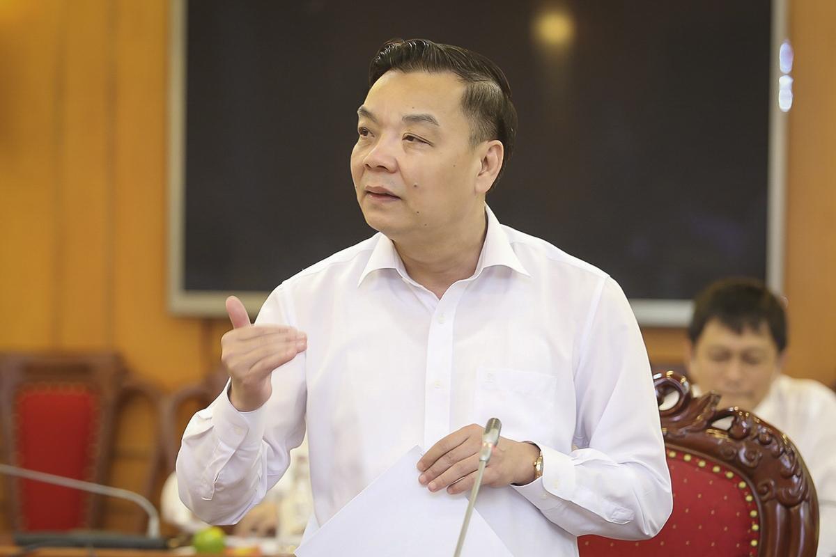 Bộ trưởng Chu Ngọc Anh phát biểu tại buổi làm việc chiều 14/8. Ảnh: LK.