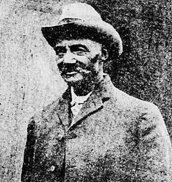 Cảnh sát William H. West tại thủ đô Washington năm 1908. Ảnh: Washington Evening Star.