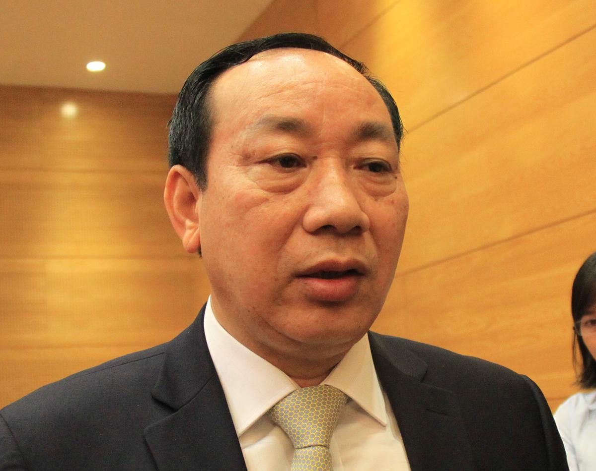 Nguyên thứ trưởng Nguyễn Hồng Trường khi đang đương chức. Ảnh: Anh Duy.