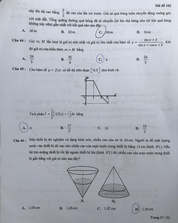 Đề kiểm tra tư duy vào Đại học Bách khoa Hà Nội - 32