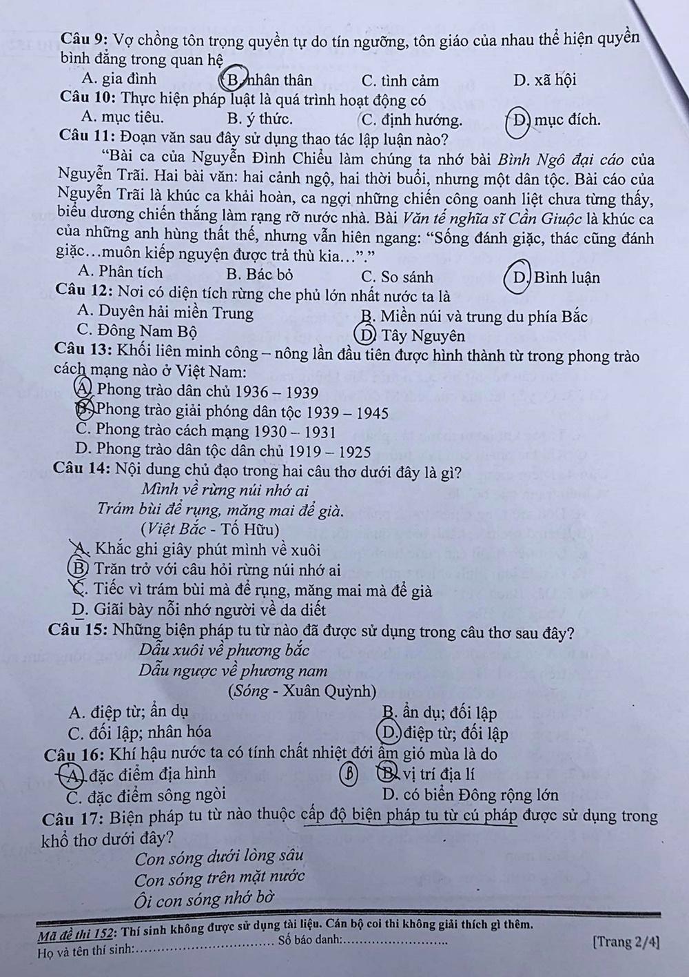 Đề thi Năng khiếu báo chí hỏi về Covid-19 - 6