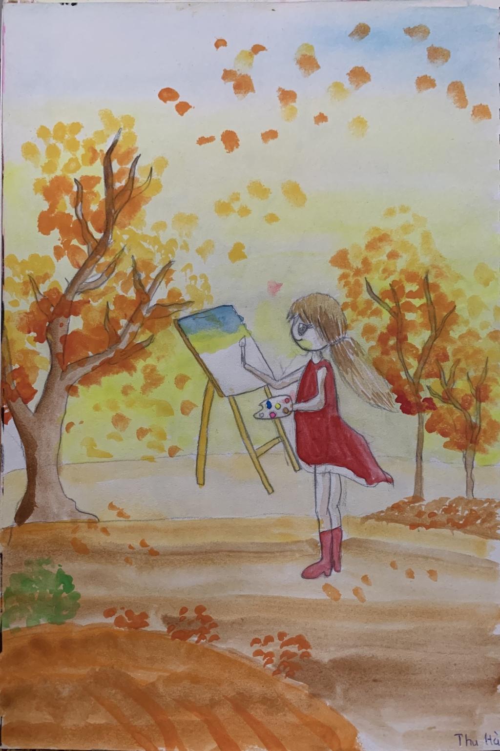 Em ước mơ làm họa sĩ