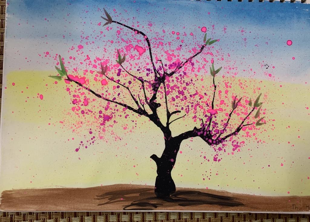 Em ước mơ làm họa sĩ - 2