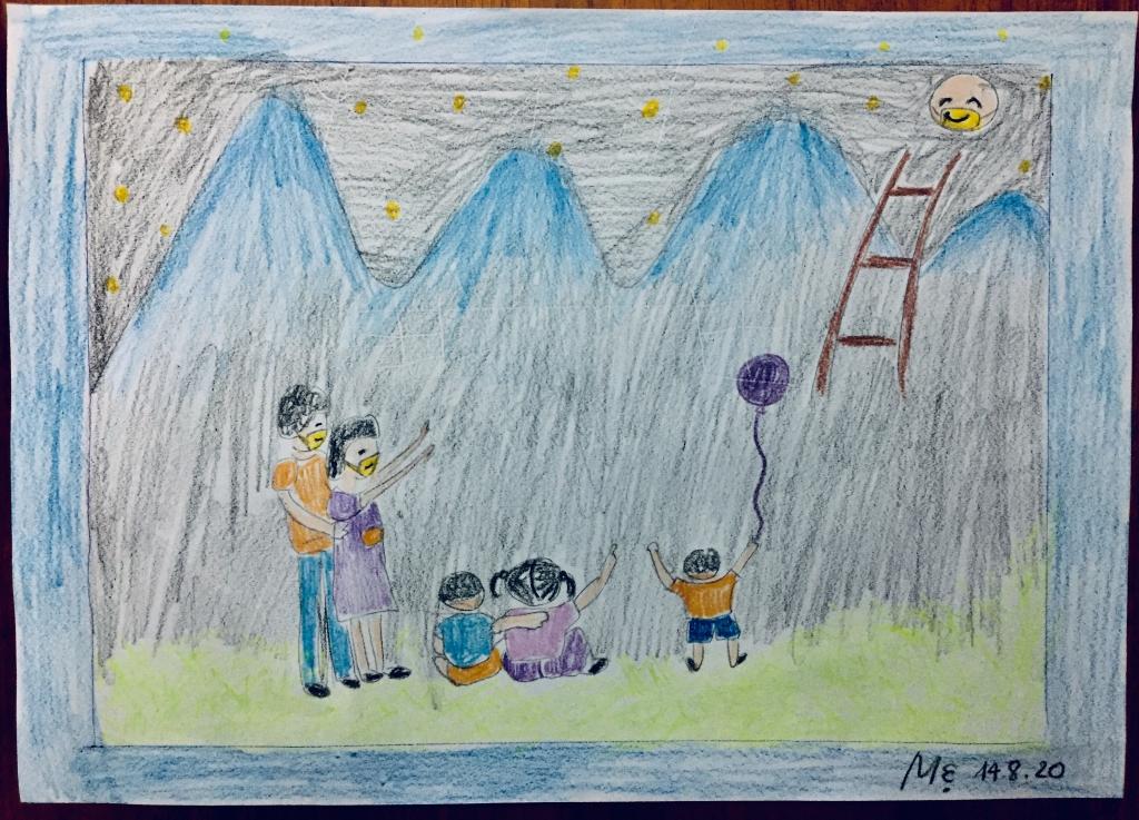 Mẹ và con cùng vẽ ước mơ - 4