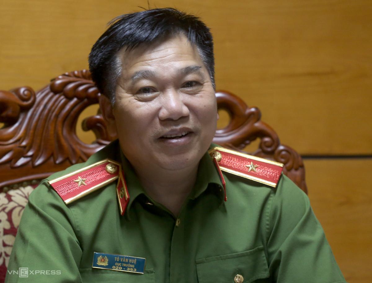 Thiếu tướng Tô Văn Huệ. Ảnh: Bá Đô