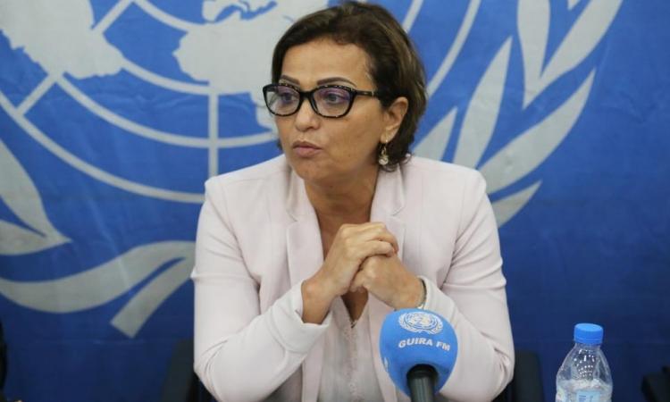 Najat Rochdi, điều phối viên nhân đạo của Liên Hợp Quốc về Lebanon. Ảnh: UN.