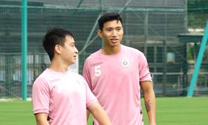 Văn Hậu trở lại tập luyện cùng CLB Hà Nội
