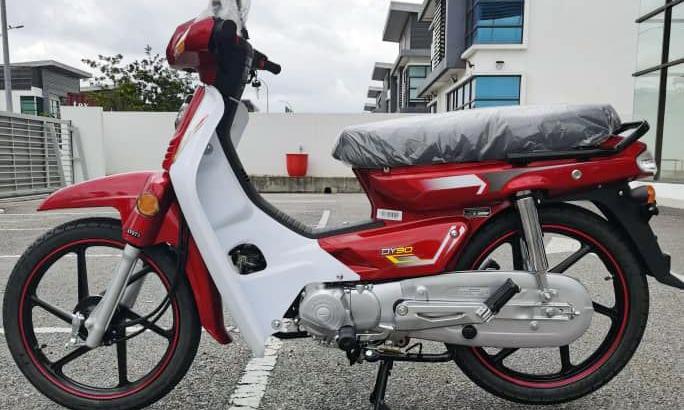 Aveta DY90 với ngoại hình hao hao Honda EX5 Dream. Ảnh: Paultan
