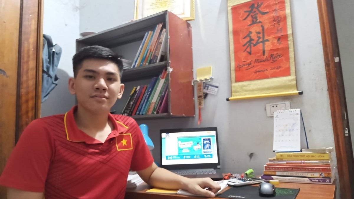 Nam sinh Tuyên Quang được tuyển thẳng vào ĐH Bách khoa Hà Nội