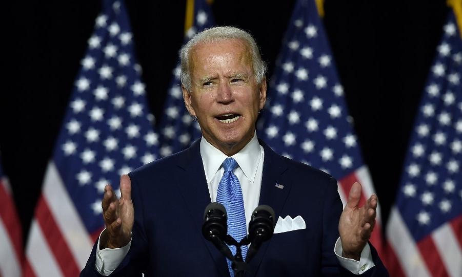 Ứng viên tổng thống đảng Dân chủ Joe Biden tại Delaware ngày 12/8. Ảnh: AFP.