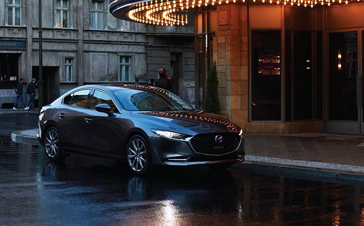 Mazda3 thế hệ mới phiên bản sedan.