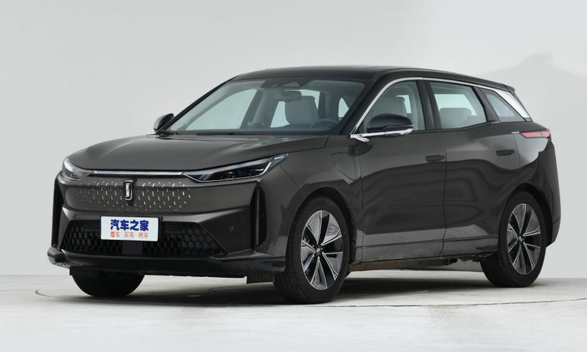 Besturne E01 là ôtô điện 5 chỗ với nhiều công nghệ hiện đại. Ảnh: FAW