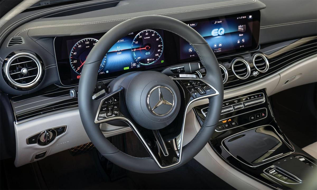 Công nghệ trên các mẫu xe kết nối của Mercedes, thương hiệu con của Daimler, được cho là sử dụng công nghệ của Nokia, theo phán quyết hôm 18/8. Ảnh: Mercedes