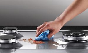 4 mẹo vặt làm sạch bếp ga