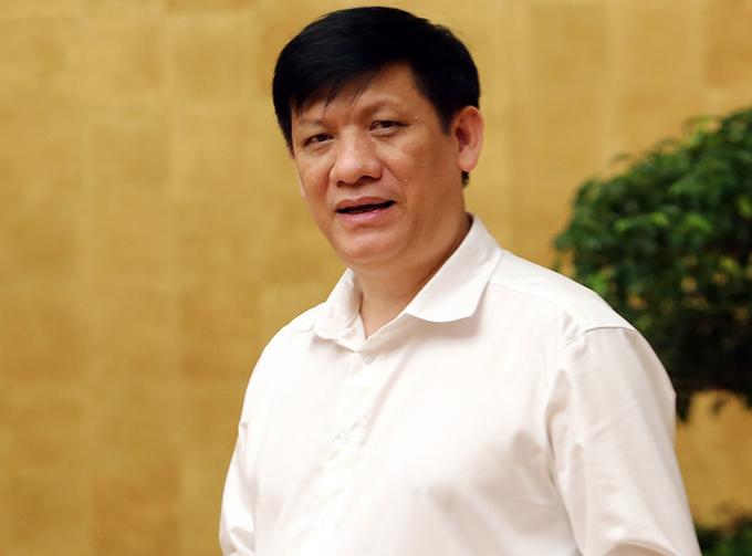 Ông Nguyễn Thanh Long, quyền Bộ trưởng Y tế. Ảnh: Đình Nam