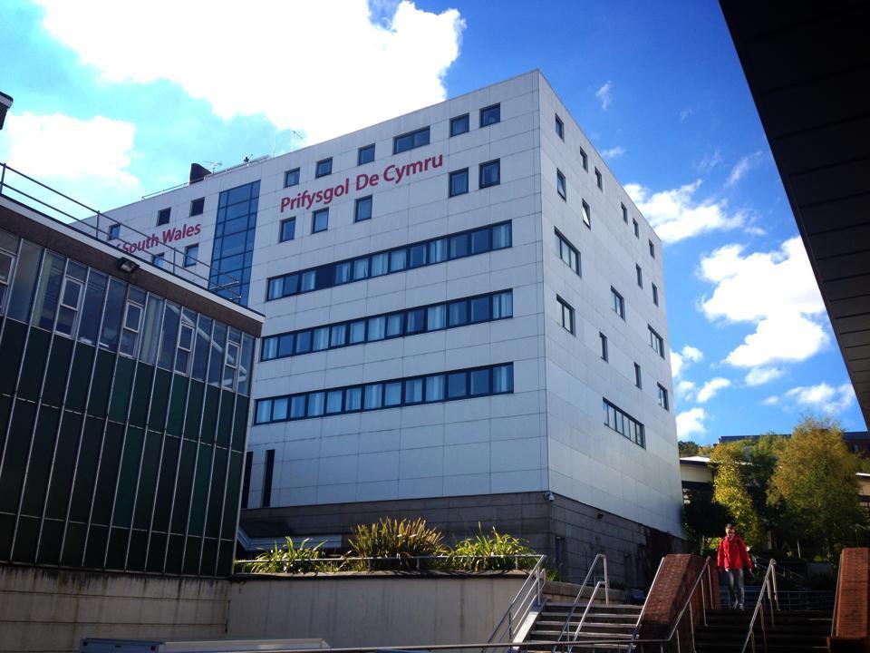 Khuôn viên Trường South Wales, nơi Đỗ Minh Tuấn theo học.