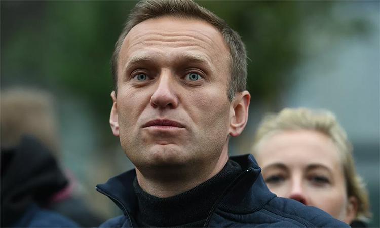 Alexei Navalny tham gia một cuộc tuần hành ở thủ đô Moskva, Nga, tháng 9/2019. Ảnh: RIA Novosti.