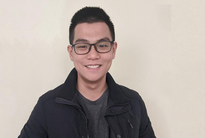 Nguyễn Hoàng Linh đã đến Mỹ được bốn ngày để chuẩn bị học PhD. Ảnh: Nhân vật cung cấp.