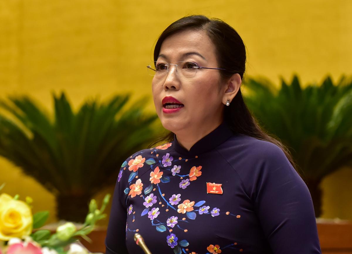 Bà Nguyễn Thanh Hải. Ảnh: Hoàng Phong