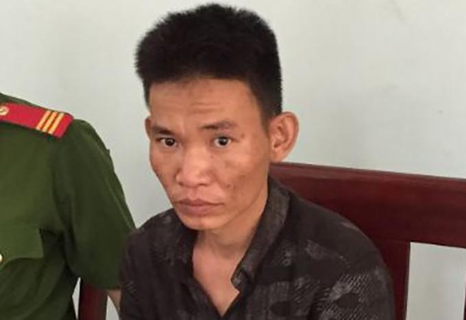 Nghi can Nguyễn Đức Thủy. Ảnh: Quang Huy.