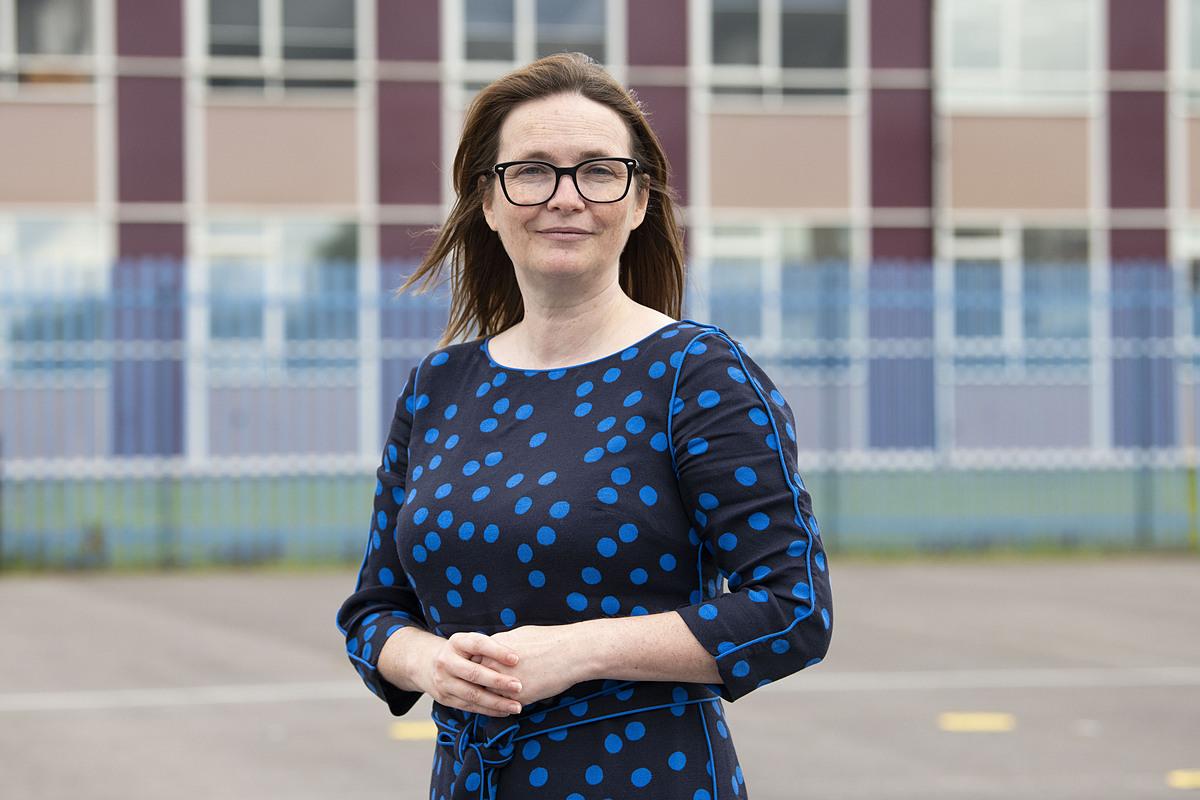 Bà Kirsty Williams, Bộ trưởng Bộ Giáo dục xứ Wales.