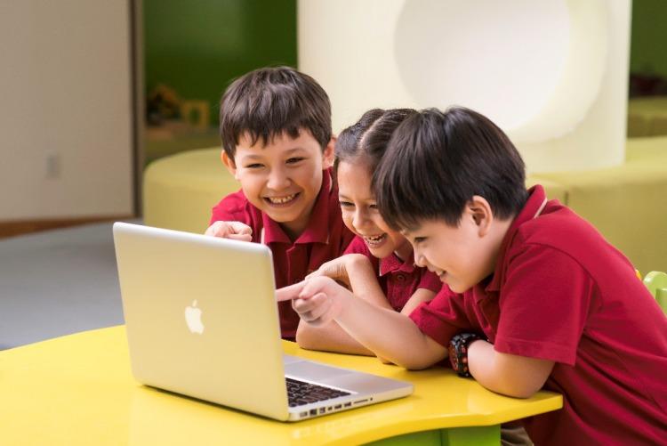 Nền tảng công nghệ được bồi dưỡng xuyên suốt cấp tiểu học tại VAS.