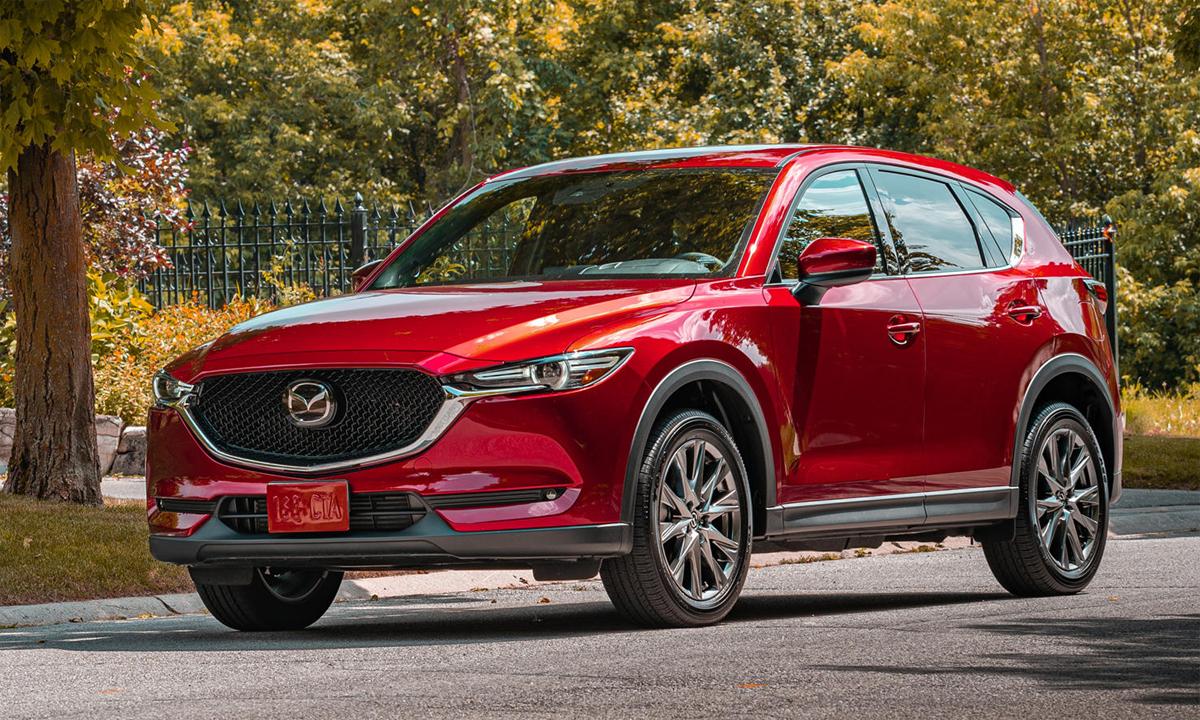 CX-5 phiên bản nâng cấp không thay đổi thiết kế, chỉ nâng cấp công nghệ. Ảnh: Mazda