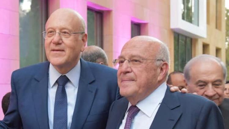 Cựu Thủ tướng Lebanon Najib Mikati (trái) cùng anh trai Taka Mikati. Ảnh: Al Jazeera.