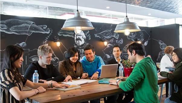 Sinh viên học tập tại ĐH Macquarie, Sydney, Australia.